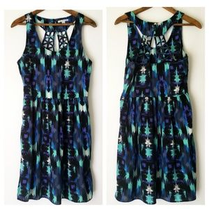 American Eagle | Caged Back Dress With Pockets